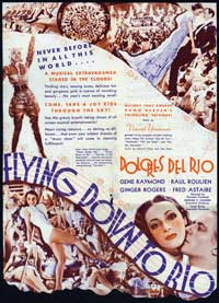 Flying Down to Rio - 27 x 40 Movie Poster - Style C