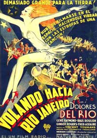 Flying Down to Rio - 11 x 17 Movie Poster - Spanish Style A