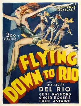 Flying Down to Rio - 27 x 40 Movie Poster - Style D