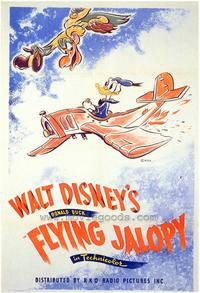 Flying Jalopy - 43 x 62 Movie Poster - Bus Shelter Style A
