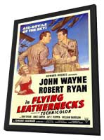 Flying Leathernecks - 11 x 17 Movie Poster - Style A - in Deluxe Wood Frame