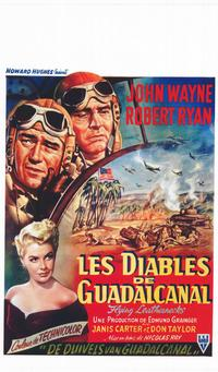 Flying Leathernecks - 11 x 17 Movie Poster - Belgian Style A