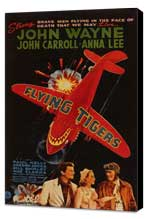 Flying Tigers - 27 x 40 Movie Poster - Style A - Museum Wrapped Canvas