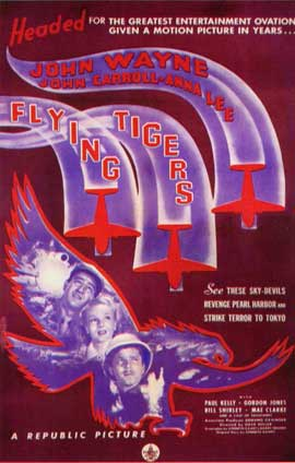Flying Tigers - 11 x 17 Movie Poster - Style B