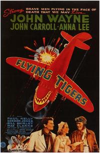 Flying Tigers - 43 x 62 Movie Poster - Bus Shelter Style A