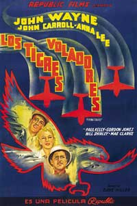 Flying Tigers - 11 x 17 Movie Poster - Spanish Style A