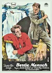 Fog Bound - 11 x 17 Movie Poster - German Style A