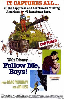 Follow Me, Boys! - 11 x 17 Movie Poster - Style A