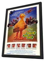 Follow That Bird - 11 x 17 Movie Poster - Style A - in Deluxe Wood Frame