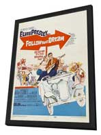 Follow That Dream - 11 x 17 Movie Poster - Style C - in Deluxe Wood Frame