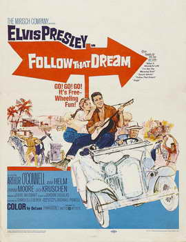 Follow That Dream - 11 x 17 Movie Poster - Style C