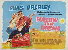 Follow That Dream - 22 x 28 Movie Poster - Half Sheet Style A