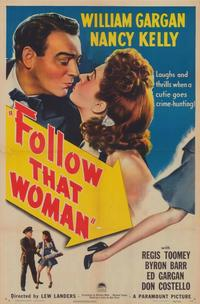 Follow That Woman - 27 x 40 Movie Poster - Style A