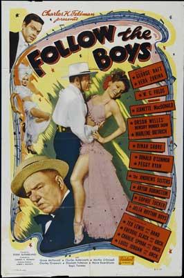Follow the Boys - 11 x 17 Movie Poster - Style E