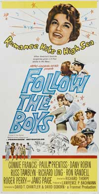 Follow the Boys - 11 x 17 Movie Poster - Style B