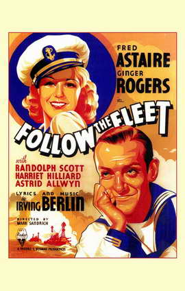 Follow the Fleet - 11 x 17 Movie Poster - Style A