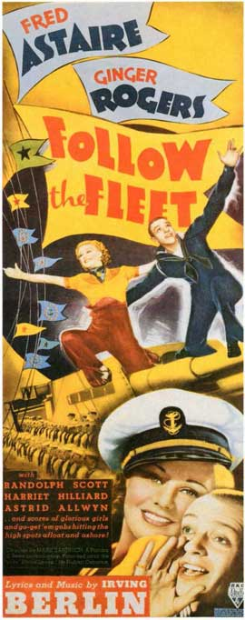 Follow the Fleet - 11 x 17 Movie Poster - Style C
