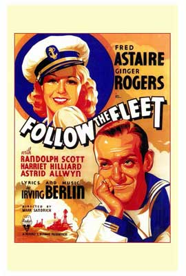 Follow the Fleet - 27 x 40 Movie Poster - Style A