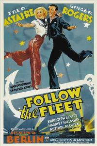 Follow the Fleet - 27 x 40 Movie Poster - Style B