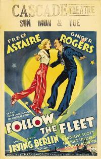 Follow the Fleet - 11 x 17 Movie Poster - Style D