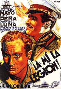 Follow the Legion! - 11 x 17 Movie Poster - Spanish Style A