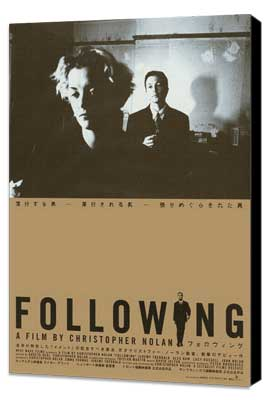 Following - 27 x 40 Movie Poster - Japanese Style A - Museum Wrapped Canvas