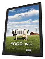 Food, Inc. - 27 x 40 Movie Poster - Style A - in Deluxe Wood Frame