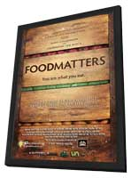 Food Matters - 11 x 17 Movie Poster - Style A - in Deluxe Wood Frame