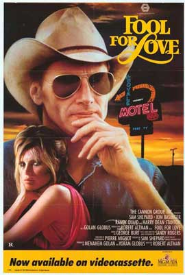 Fool for Love - 27 x 40 Movie Poster - Style A