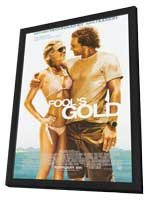 Fool's Gold - 11 x 17 Movie Poster - Style A - in Deluxe Wood Frame