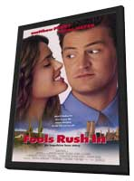 Fools Rush In - 11 x 17 Movie Poster - Style A - in Deluxe Wood Frame