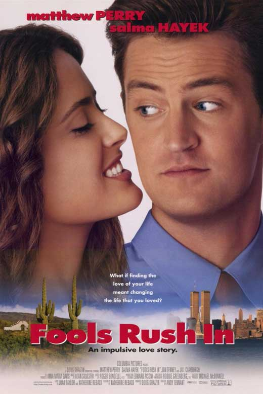 fools rush in movie Free essay: fools rush in is a romantic comedy dealing with interpersonal  this movie is a perfect example of a relationship between two people.