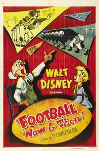 Football Now and Then - 11 x 17 Movie Poster - Style A