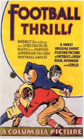 Football Thrills - 11 x 17 Movie Poster - Style A