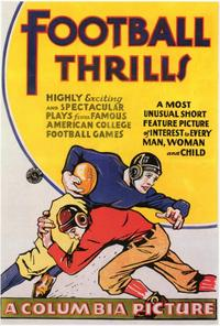 Football Thrills - 27 x 40 Movie Poster - Style A