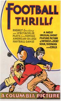 Football Thrills - 43 x 62 Movie Poster - Bus Shelter Style A