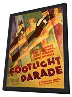 Footlight Parade - 11 x 17 Movie Poster - Style B - in Deluxe Wood Frame