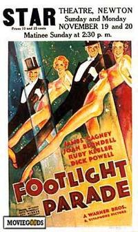 Footlight Parade - 43 x 62 Movie Poster - Bus Shelter Style A