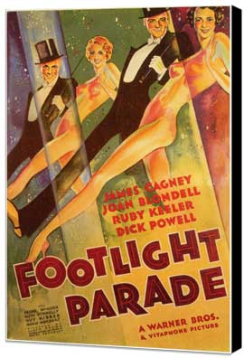 Footlight Parade - 11 x 17 Museum Wrapped Canvas