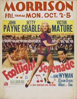 Footlight Serenade - 11 x 17 Movie Poster - Style A