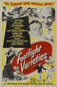 Footlight Varieties - 11 x 17 Movie Poster - Style A