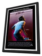 Footloose - 27 x 40 Movie Poster - Style A - in Deluxe Wood Frame