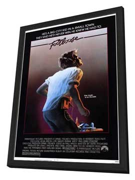 Footloose - 11 x 17 Movie Poster - Style A - in Deluxe Wood Frame