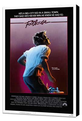 Footloose - 27 x 40 Movie Poster - Style A - Museum Wrapped Canvas
