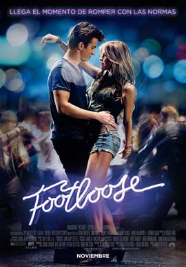 Footloose - 11 x 17 Movie Poster - Spanish Style A