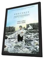 Footnote - 11 x 17 Movie Poster - Style A - in Deluxe Wood Frame