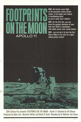 Footprints on the Moon: Apollo 11 - 11 x 17 Movie Poster - Style A