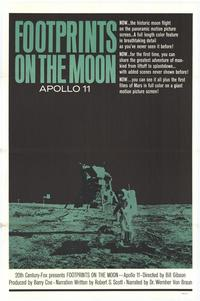 Footprints on the Moon: Apollo 11 - 27 x 40 Movie Poster - Style A