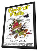 Footrot Flats: The Dog's Tale - 11 x 17 Movie Poster - Style A - in Deluxe Wood Frame