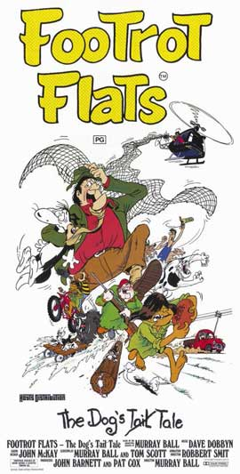 Footrot Flats: The Dog's Tale - 11 x 17 Movie Poster - Style A
